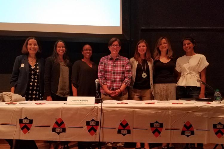 women in STEM panel discussion