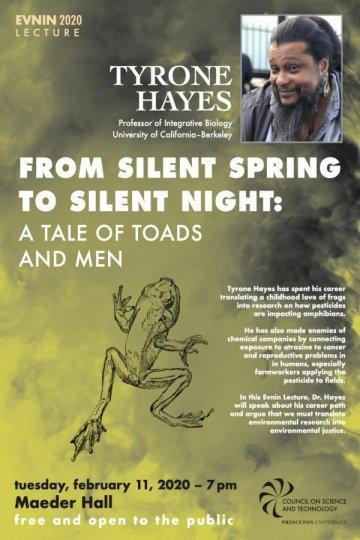 Tyrone Hayes From Silent Spring to Silent Night